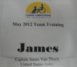 Canine Companions for Independence May 2012 Team Training Captain James Van Thach